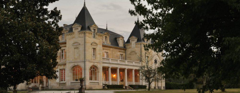 Le château de Léognan