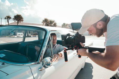 Location de voiture pour film et tournage