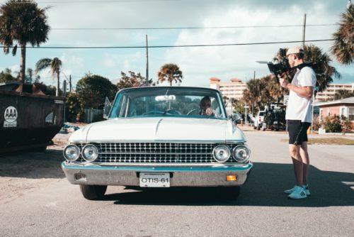 Quelle voiture ancienne louer pour un film ?