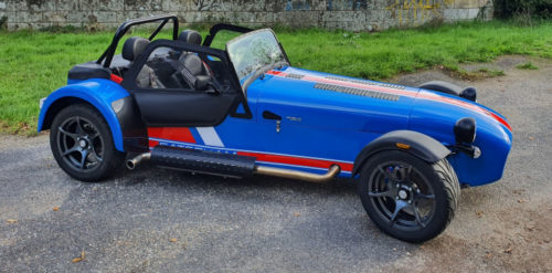 La Caterham en kit