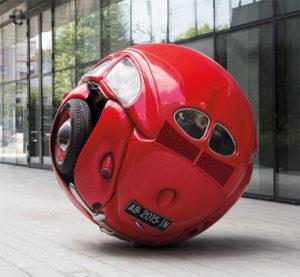 beetle sphere red