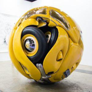 beetle sphere yellow
