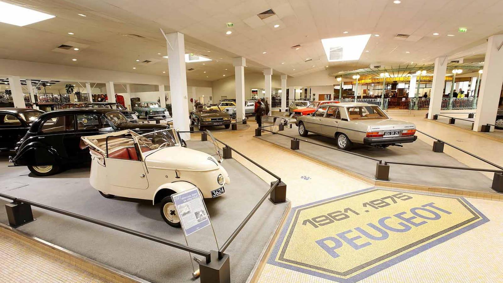 Les musées de l'automobile en France