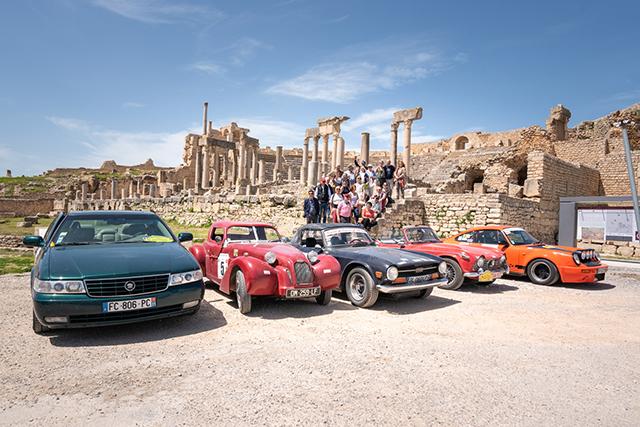 Rallye en voiture de collection