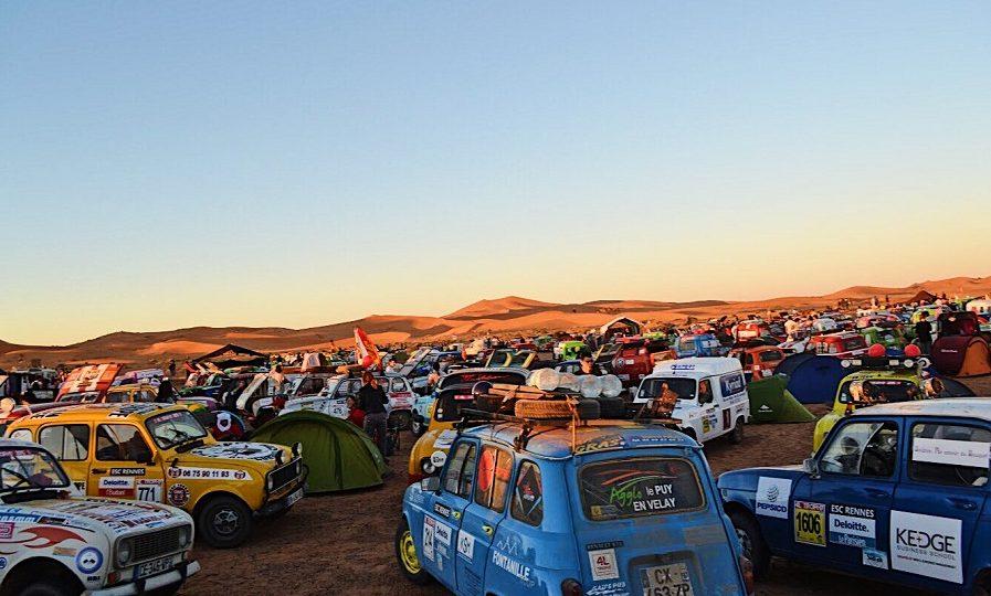 Rallye en voiture ancienne