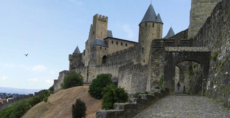 Photographie de la cité de Carcassonne