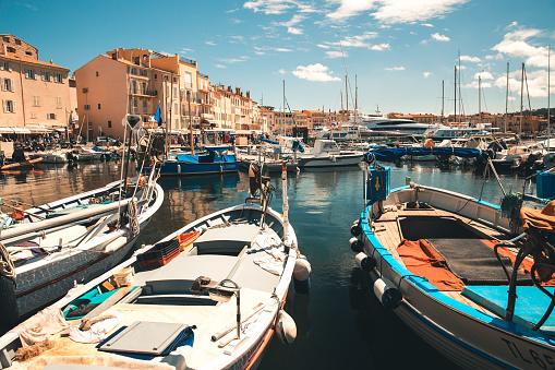 Photographie du port de St Tropez