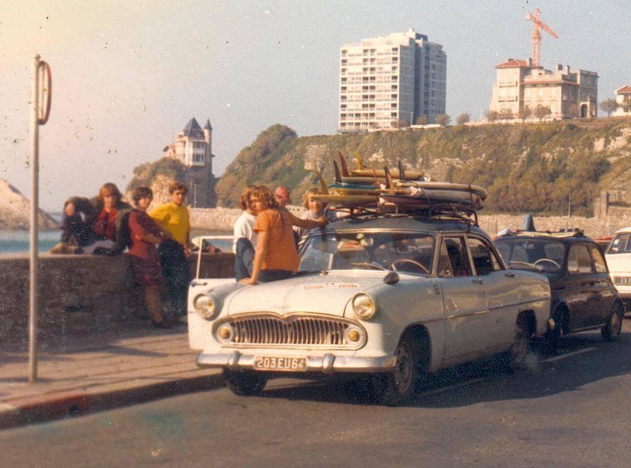 La traversée du Pays Basque en voiture de collection
