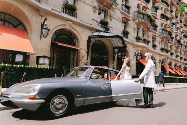 voiture ancienne mariage